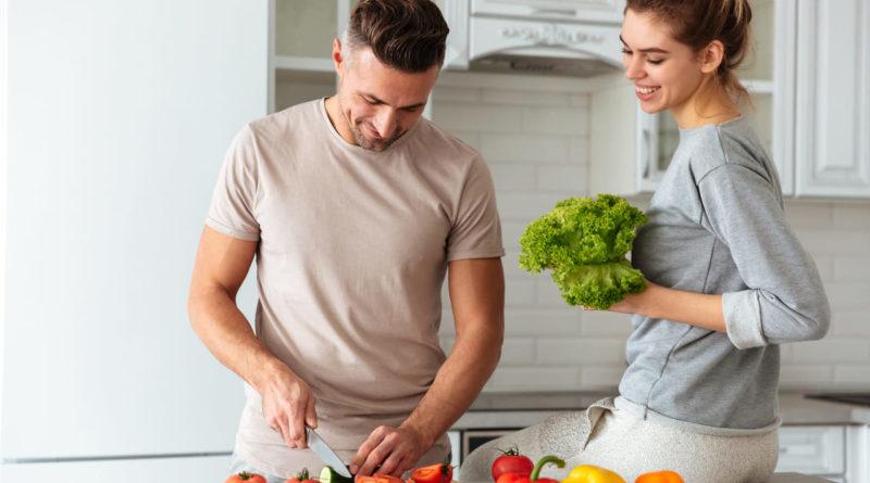 Pár zdravě vaří