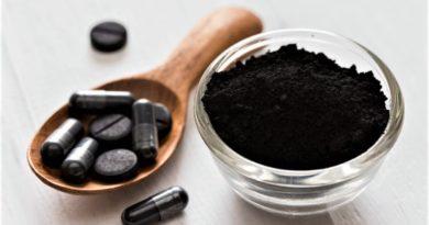 Aktivní uhlí v tabletkách, pilulkách i v prášku