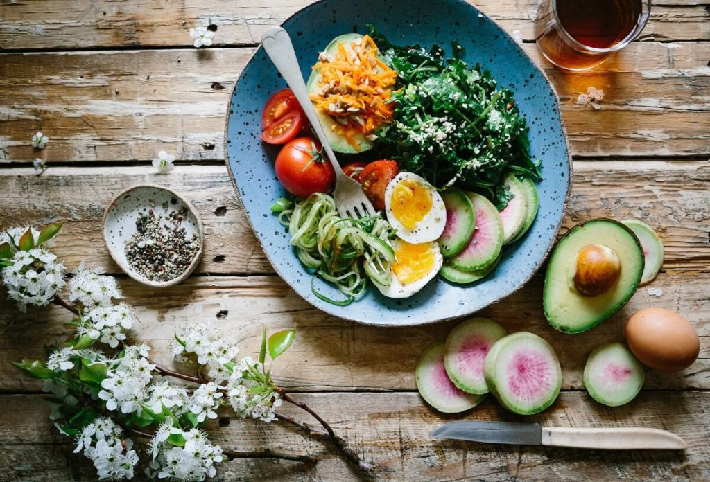 Zdravé dietní jídlo