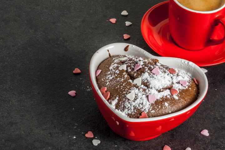 Mug cake v hrnku