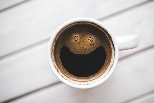 Usmívající se káva